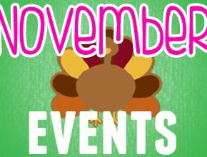 November Events 2019