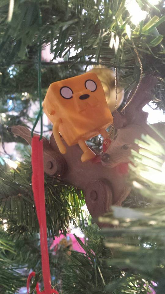 No tree is complete without Jake.  (Samantha Martin, Mutsu-shi) SM2