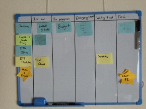 Organizing (with whiteboards)