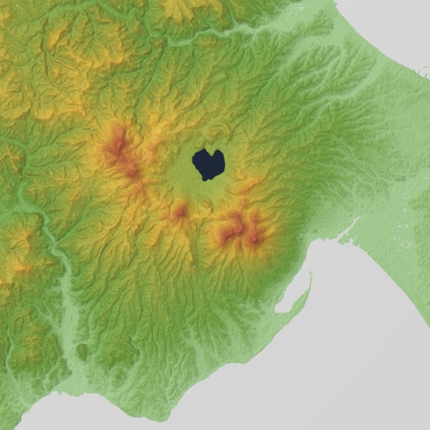 Mount_Osorezan_Relief_Map,_SRTM-1