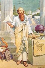 pythagoras-painting